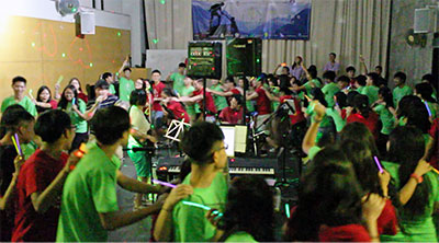 Islands Youth Camp Band Show
